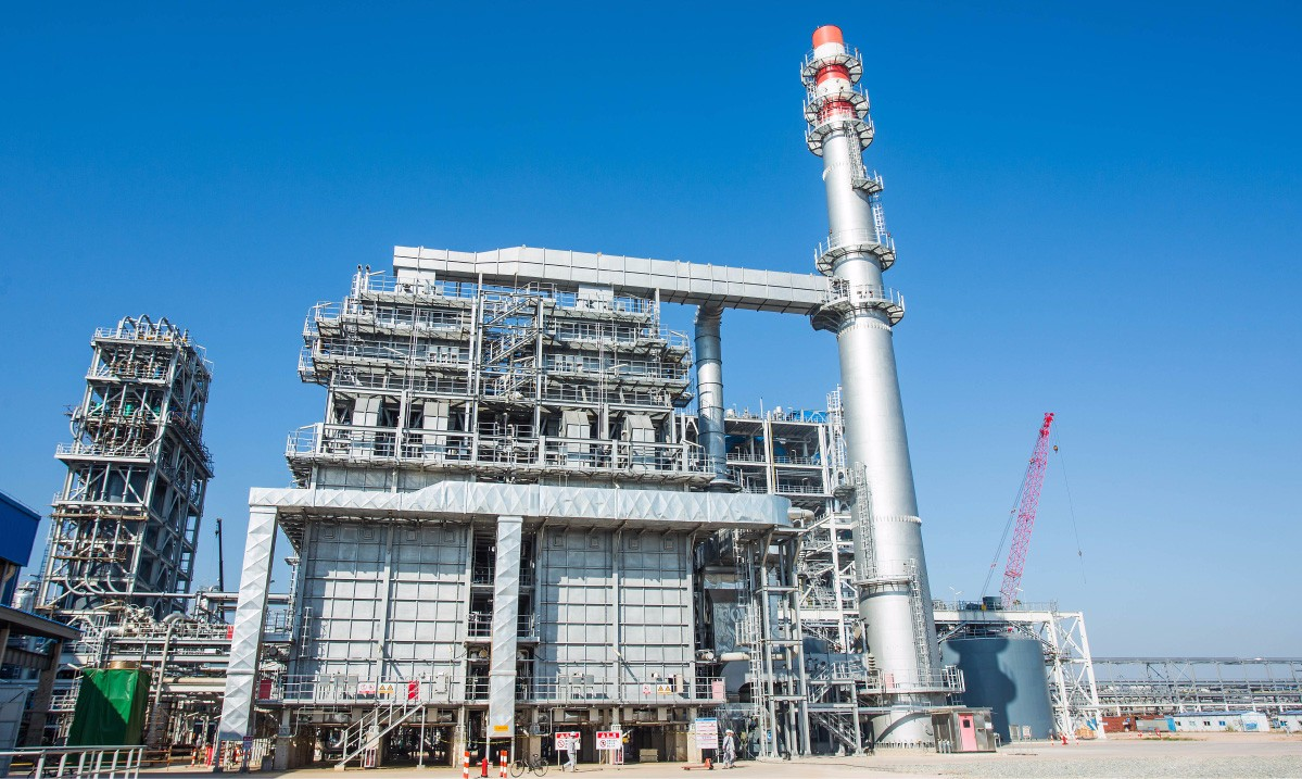 Year 2015 Huizhou Refinery Refining Phase II Coal to Hydrogen Plant POX Steam Super-heater and Waste Heat Recovery System(Including 60m Stack)