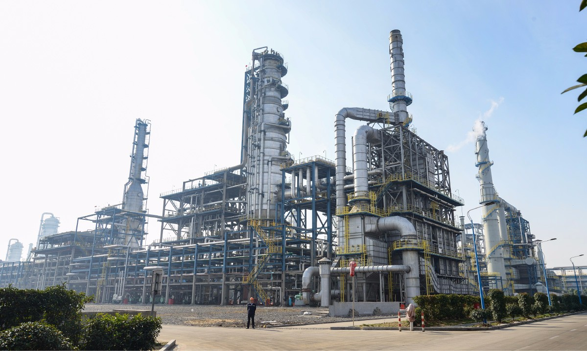 Year 2013 Zhong jin Petrochemical CCRU heaters, Stack, Flue Gas Ducts & Ladder, Platforms