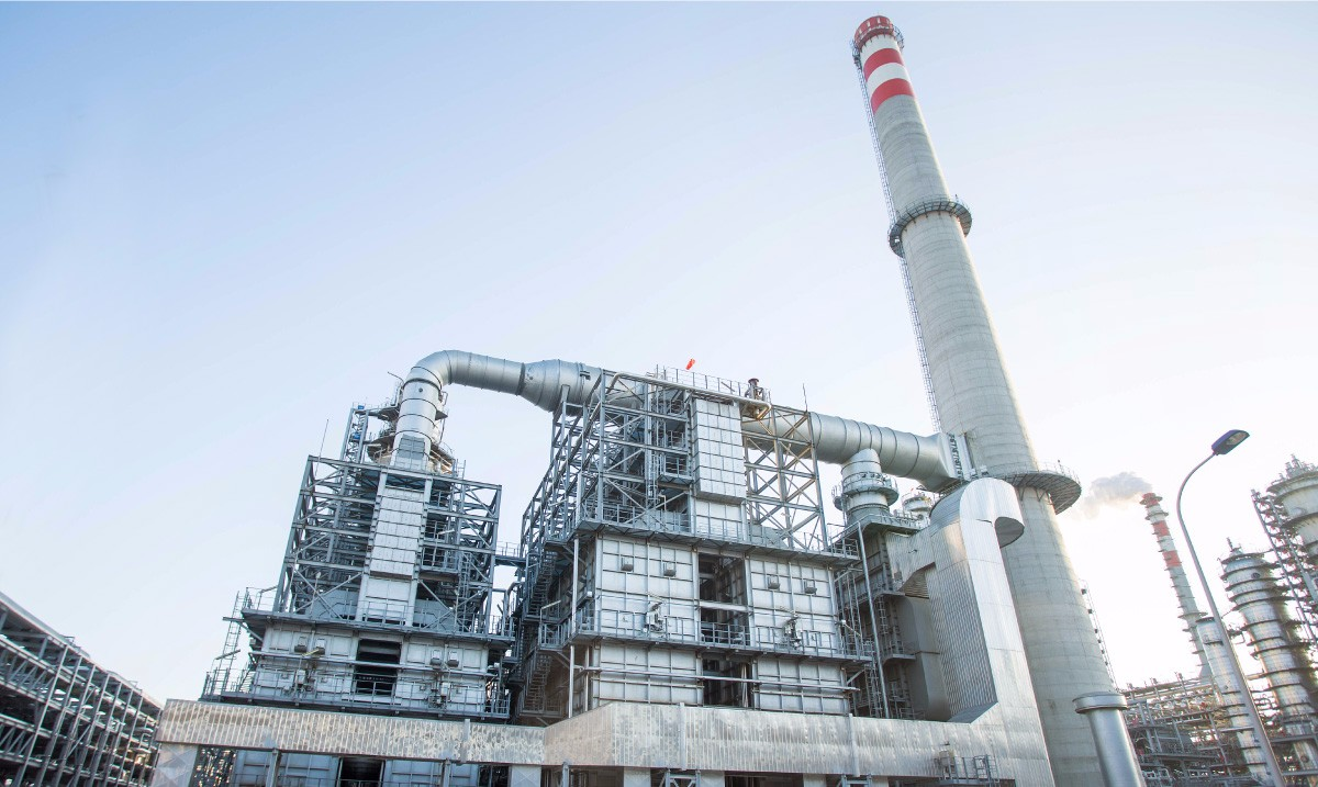 Year 2012 Quanzhou SINOCHEM GROUP 12,000 KTA Refiner Project H2 R eformer Waste Heat Boiler (including 70m stack)